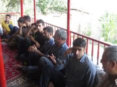 دیدار با اهالی کارمزد سوادکوه