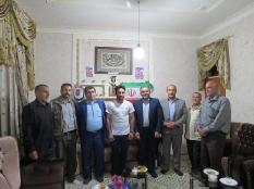 حضور در منزل احمد محمدی