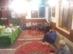 حضور مهندس یوسفعلی جوانی در مجمع الذاکرین قادیکلا