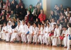 حضور مهندس جوانی در مسابقات انتخابی کاراته کشور