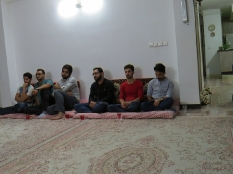 دیدار مهندس یوسفعلی جوانی با جمعی از جوانان قائمشهر