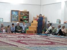 سخنرانی مهندس یوسفعلی جوانی در روستای صنم جاده نظامی