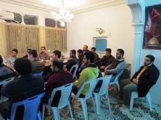 دیدار جمعی از جوانان شهرستان قائمشهر با مهندس جوانی