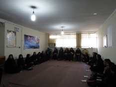دیدار  جمعی از دانش آموزان نخبه با مهندس یوسفعلی جوانی