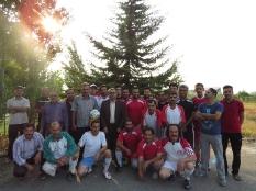 دیدار رئیس مجمع عالی نخبگان قائم شهر با ورزشکاران ساروکلا