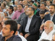 مراسم عزاداری کشته شدگان حادثه منا در مصلی قائم شهر