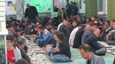 مراسم ختم زنده یاد هادی نوروزی در روز اربعین حسینی