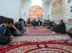 حضور مهندس یوسفعلی جوانی در جمع اهالی سید محله قائمشهر