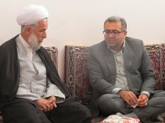 دیدار جمعی از نخبگان شهرستان قائمشهر با امام جمعه سوادکوه شمالی