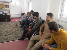 دیدار جمعی از نخبگان با امام جمعه لاله آباد زرگر شهر