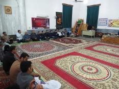 حضور مهندس یوسفعلی جوانی در محفل انس با قرآن سنگتاب سیمرغ