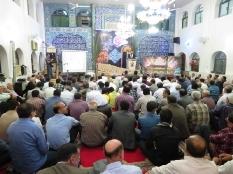 حضور مهندس یوسفعلی جوانی در یادواره شهدای مسجد سجادیه خیابان تهران