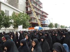حضور مهندس یوسفعلی جوانی قادیکلایی در راهپیمایی روز عفاف و حجاب