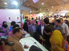 بازدید از نمایشگاه بین المللی اشتغال و کار آفرینی پل تالار