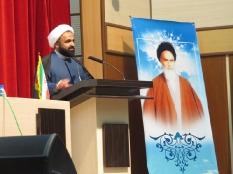 کارگاه حلقه صالحین بسیج اساتید با حضور آیت الله حائری شیرازی