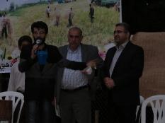 سخنرانی مهندس یوسفعلی جوانی قادیکلایی در جشن خرمن میکلا قائم شهر