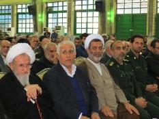 مراسم اربعین جان باختگان حادثه منا در حسینیه عاشقان قائم شهر