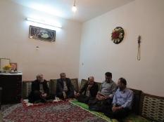 دیدار مهندس یوسفعلی جوانی قادیکلایی با هنرمند پیشکسوت تئاتر مسعود ذوالفقاری