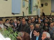 حضور مهندس یوسفعلی جوانی در یادواره شهدا کمیته انقلاب اسلامی قائمشهر