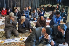 حضور مهندس یوسفعلی جوانی در مراسم شهادت حضرت زهرا (س) زاهدکلا