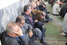 حضور مهندس یوسفعلی جوانی در مراسم سالگرد شیخ مصطفی مصطفوی زیراب
