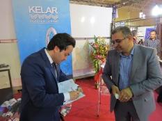 حضور مهندس یوسفعلی جوانی در نمایشگاه تخصصی صنعت ساختمان پل تالار قائمشهر