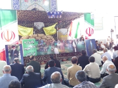 حضور رئیس مجمع عالی نخبگان شهرستان قائم شهر در یادواره شهدا قراخیل