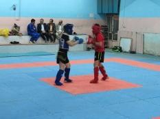 دیدار مهندس یوسفعلی جوانی با جمعی از ورزشکاران در ورزشگاه شهید وطنی