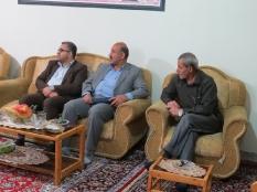 دیدار مهندس یوسفعلی جوانی با خانواده شهید والا مقام سید مجتبی حسینی