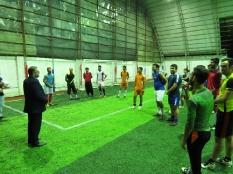 حضور رئیس مجمع عالی نخبگان شهرستان قائم شهر در جمع ورزشکاران سنگتاب سیمرغ