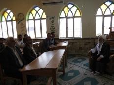 دیدار جمعی از نخبگان با آیت الله سلیمانی رئیس حوزه علمیه کوتنا قائم شهر