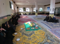 حضور رئیس مجمع عالی نخبگان شهرستان قائم شهر در جمع بانوان ریکنده قائم شهر