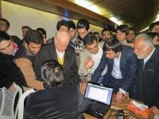 حضور مهندس یوسفعلی جوانی در انتخابات اعضای هیئت مدیره وبازرس شرکت تعاونی مازند نظام