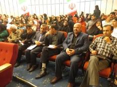 حضور رئیس مجمع عالی نخبگان شهرستان قائم  شهر در تجلیل از برترین های کنکور 94