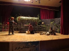 سخنرانی مهندس یوسفعلی جوانی در اختتامیه تئاتر خداحافظ در مجتمع فرهنگی هنری حر کوچکسرا