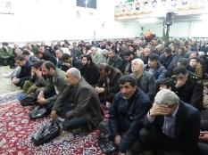 حضورمهندس یوسفعلی جوانی در بزرگداشت شهدای پل سه تیر و چهار شهید گمنام سید نظام الدین قائمشهر