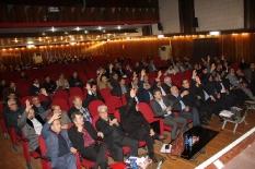 حضورمهندس یوسفعلی جوانی در مجمع عمومی فوق العاده نوبت دوم سازمان نظام مهندسی استان مازندران در سالن هلال احمر ساری